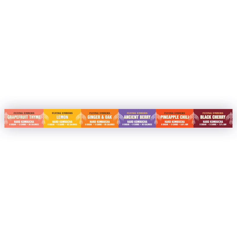 General Flavor Specific Shelf Strip – 18″ (25)