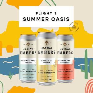 Endless Summer Oasis - 24pk Limited + 24pk Hard Kombucha