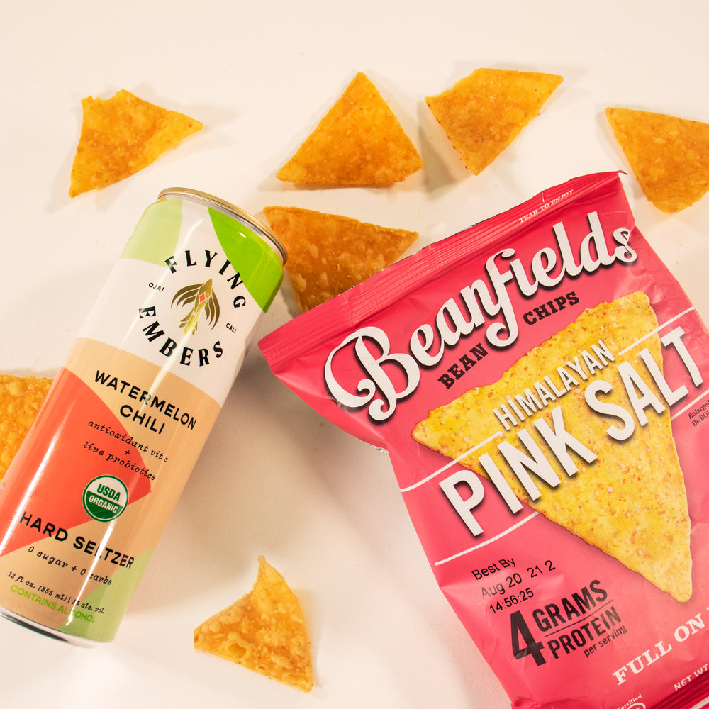 """Spice it Up"" - Snack & Seltzer Pairing"