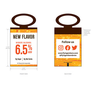 Pineapple Chili ABV Neck Tags (1000) – Sales
