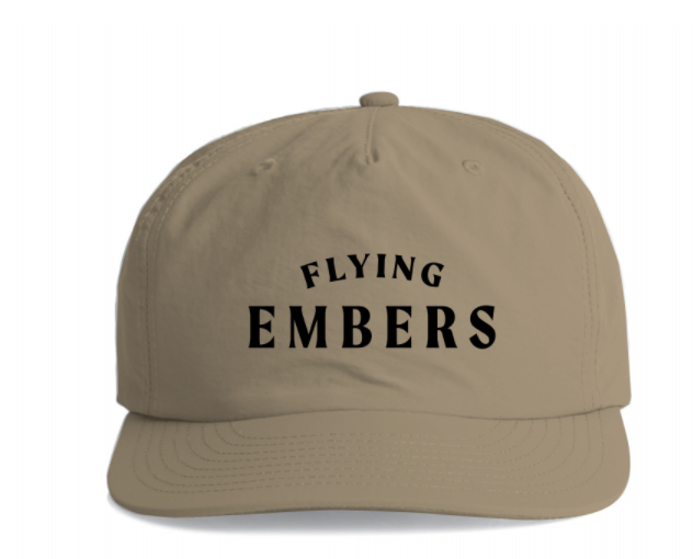 Flying Embers Surfer Cap