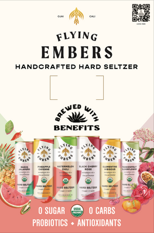 Hard Seltzer Case Card with Pricing (25/bundle)