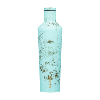 Canteen - Bali Blue-Bags-Corkcicle-25 oz-So & Sew Boutique