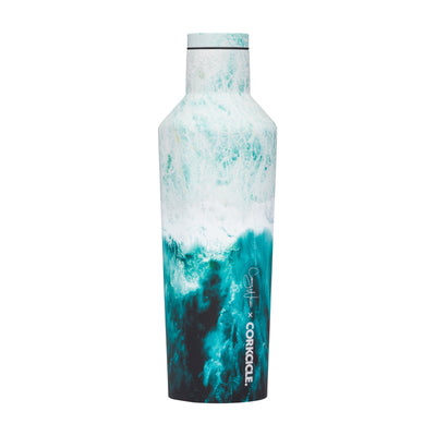 Canteen - Big Wave-Drinkware-Corkcicle-16 oz-So & Sew Boutique