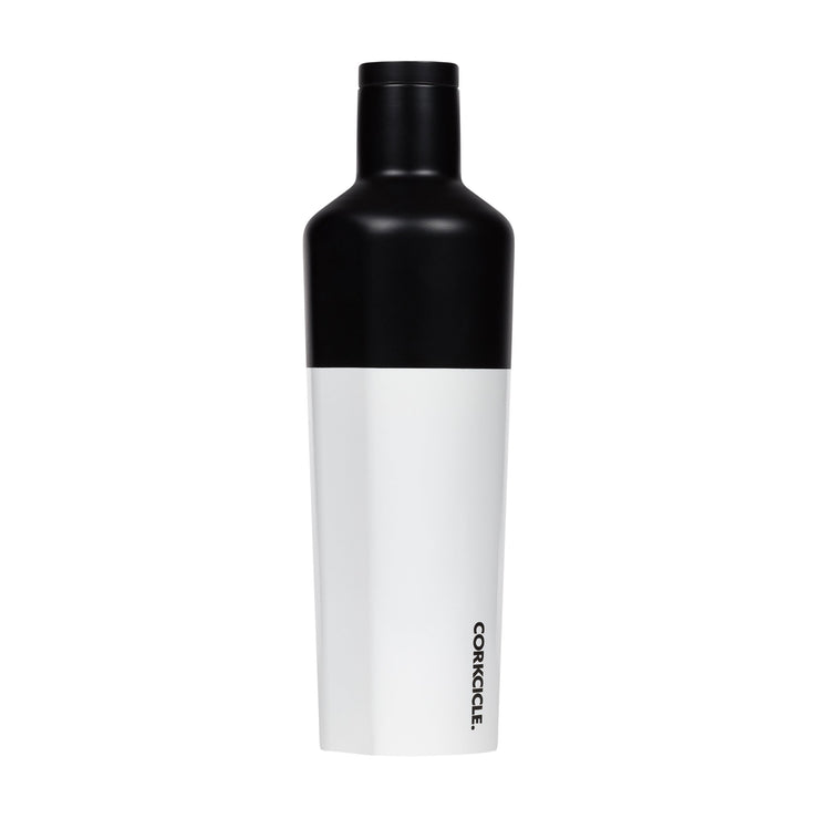 Canteen - Modern Black-Drinkware-Corkcicle-25 oz-So & Sew Boutique
