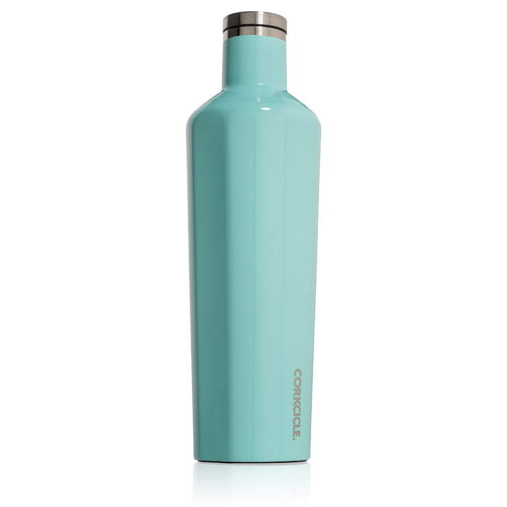 Canteen - Turquoise-Drinkware-Corkcicle-25 oz-So & Sew Boutique
