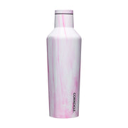 Canteens - Pink Marble-Drinkware-Corkcicle-16 oz-So & Sew Boutique