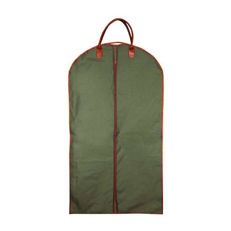 Canvas Suit Bag - Forest Green-Bags-MSC-So & Sew Boutique