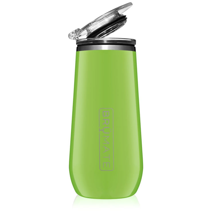 Champagne Flute - Electric Green-Drinkware-Brumate-So & Sew Boutique