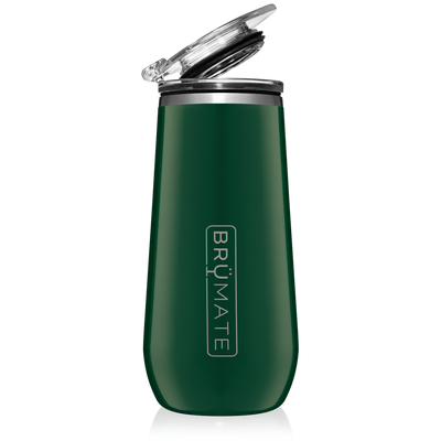 Champagne Flute - Emerald Green-Drinkware-Brumate-So & Sew Boutique