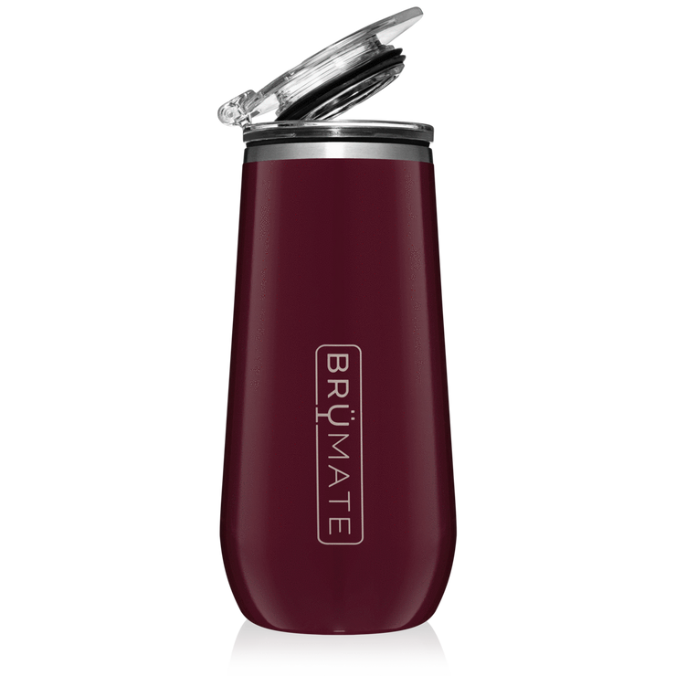 Champagne Flute - Merlot-Drinkware-Brumate-So & Sew Boutique