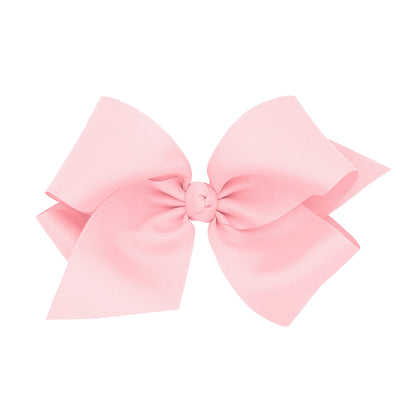 Colossal Grosgrain Bow - Light Pink-Accessories-WeeOnes-So & Sew Boutique