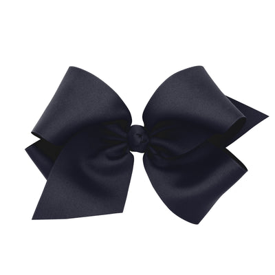 Colossal Grosgrain Bow - Navy-Accessories-WeeOnes-So & Sew Boutique