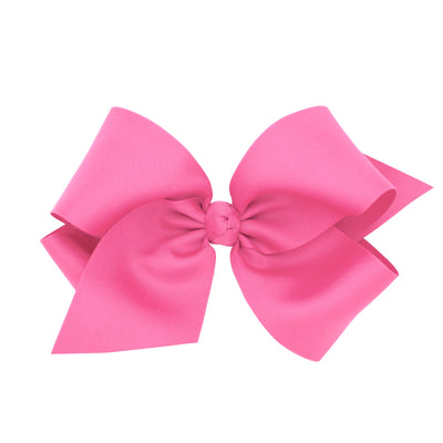 Colossal Grosgrain Bow - Pink-Accessories-WeeOnes-So & Sew Boutique