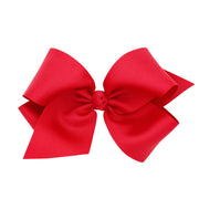 Colossal Grosgrain Bow - Red-Accessories-WeeOnes-So & Sew Boutique