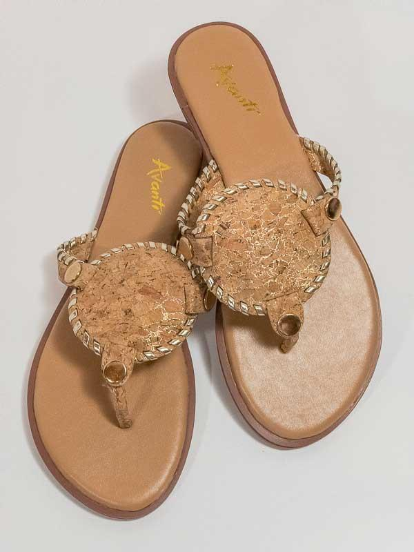Delight Monogrammable Sandal-Shoes-Avanti Shoes-So & Sew Boutique