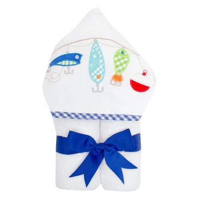 Everykid Towel - Fishing Pole-Baby-3Marthas-So & Sew Boutique