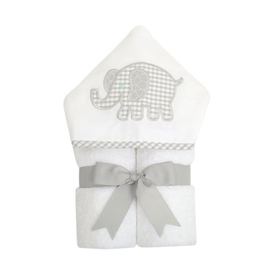 Everykid Towel - Grey Elephant-Baby-3Marthas-So & Sew Boutique