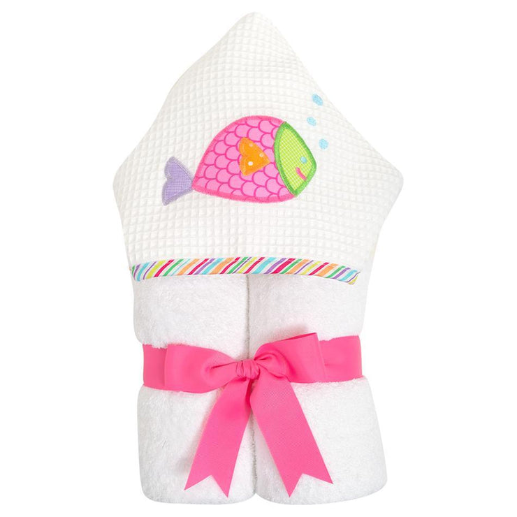 Everykid Towel - Pink Fish-Baby-3Marthas-So & Sew Boutique