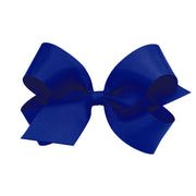 Giant Grosgrain Bow - Royal Blue-Accessories-WeeOnes-So & Sew Boutique