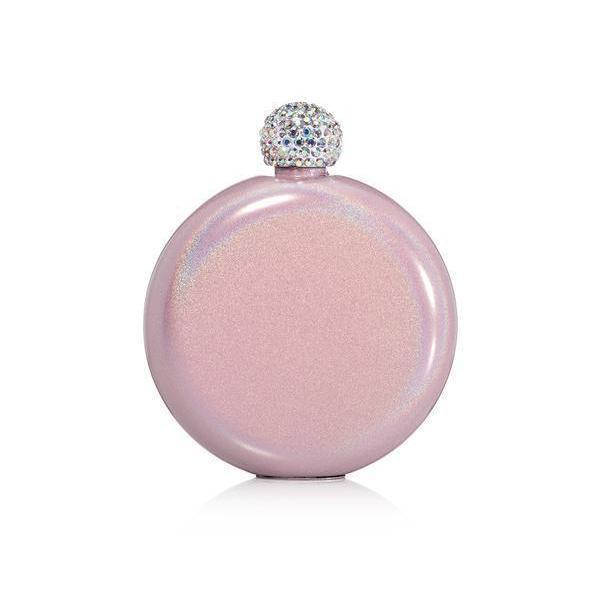 Glitter Flask - Blush-Drinkware-Brumate-So & Sew Boutique