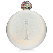 Glitter Flask - White-Drinkware-Brumate-So & Sew Boutique