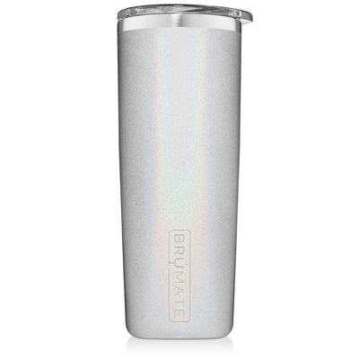 Highball Tumbler - Glitter White-Drinkware-Brumate-So & Sew Boutique