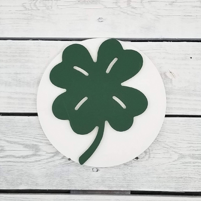 Home Medallion - Clover-Home Decor-Greens Mill-So & Sew Boutique