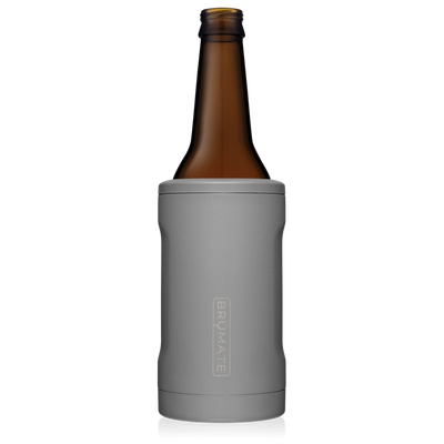 Hopsulator Bott'l - Matte Gray-Drinkware-Brumate-So & Sew Boutique
