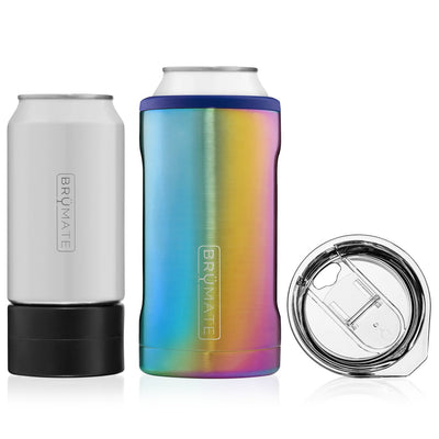Hopsulator Trio - Rainbow Titanium-Drinkware-Brumate-So & Sew Boutique