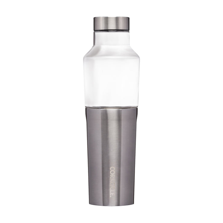 Hybrid Canteen - Gunmetal-Drinkware-Corkcicle-20 oz-So & Sew Boutique