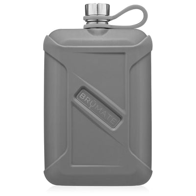 Liquor Canteen - Matte Grey-Drinkware-Brumate-So & Sew Boutique