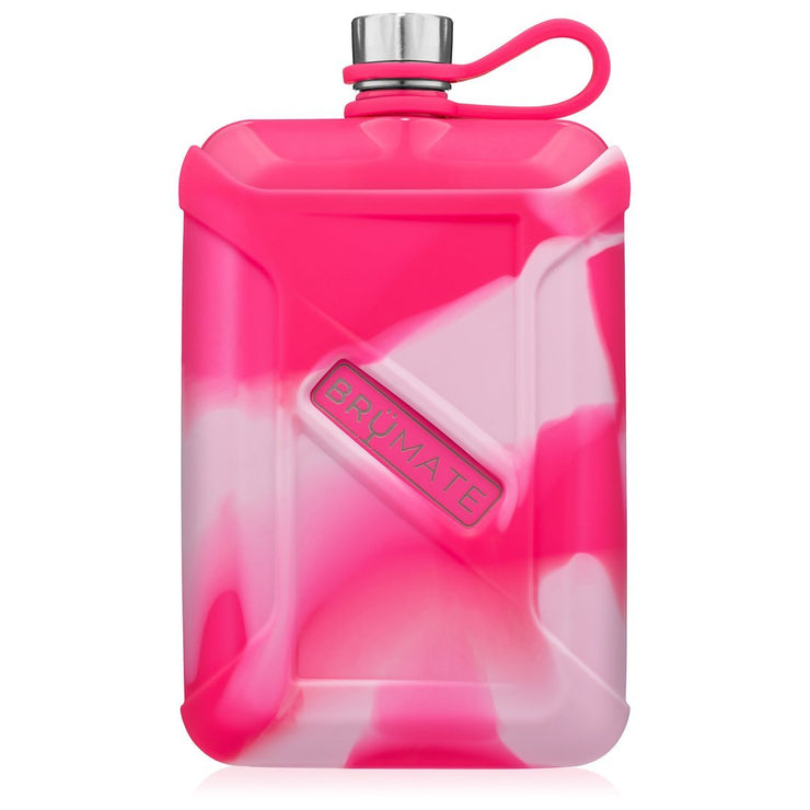 Liquor Canteen - Neon Pink Swirl-Drinkware-Brumate-So & Sew Boutique