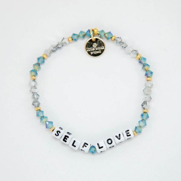 LWP Self Love Bracelet-Accessories-Little Words Project-White-Twinkle-So & Sew Boutique