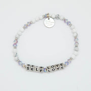 LWP Self Love Bracelet - Cream Puff-Jewelry-Little Words Project-Silver-So & Sew Boutique