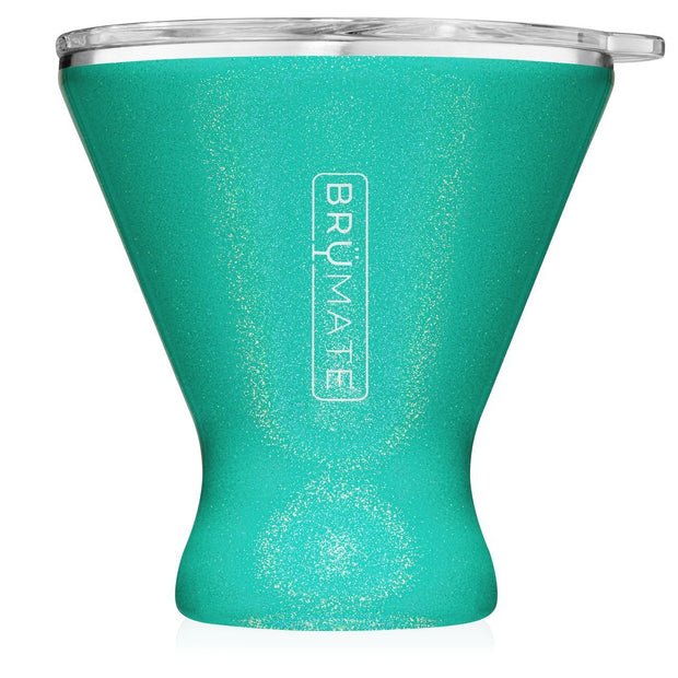 Margtini Tumbler - Glitter Peacock-Drinkware-Brumate-So & Sew Boutique