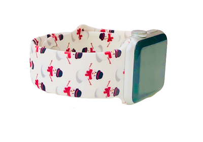 Snowman Apple Watch Band-Accessories-Prissy Plates Gifts & More-So & Sew Boutique