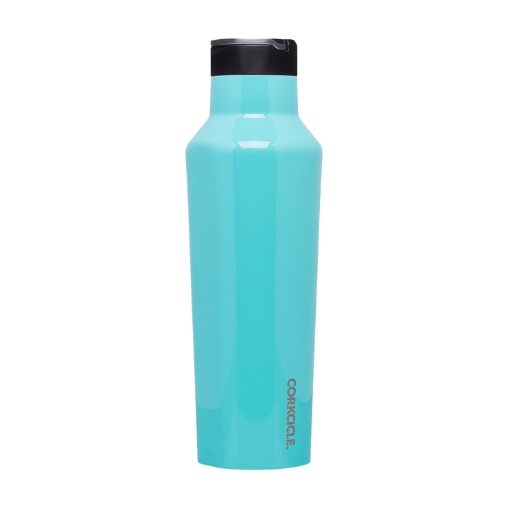 Sport Canteen - Turquoise-Drinkware-Corkcicle-20 oz-So & Sew Boutique