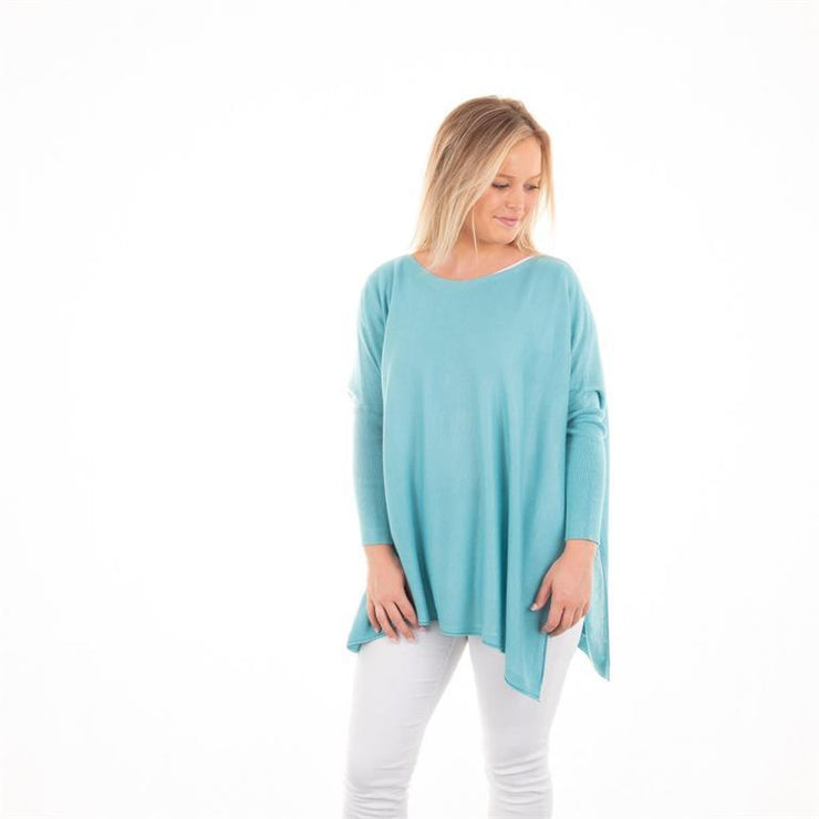 Spring Sweater - Teal-Apparel-MSC-So & Sew Boutique