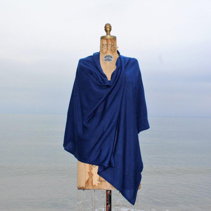 Topper Shawl - Navy-Apparel-A Soft Idea-So & Sew Boutique