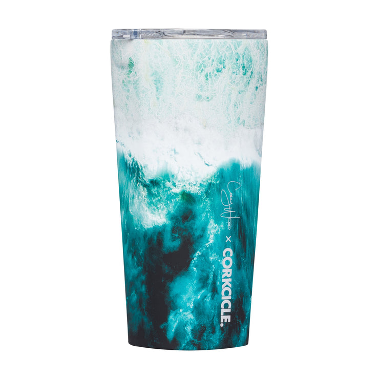 Tumbler - Big Wave-Drinkware-Corkcicle-16 oz-So & Sew Boutique