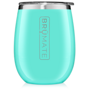 Uncork'd 14 oz Wine Tumbler - Aqua-Drinkware-Brumate-So & Sew Boutique