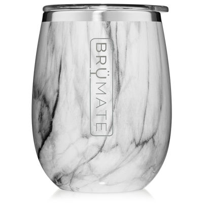Uncork'd 14 oz Wine Tumbler - Carrara-Drinkware-Brumate-So & Sew Boutique