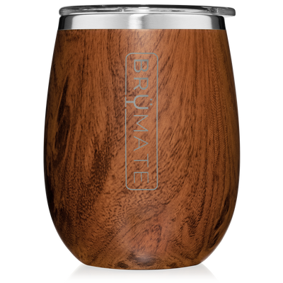 Uncork'd 14 oz Wine Tumbler - Walnut-Drinkware-Brumate-So & Sew Boutique