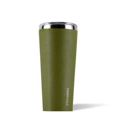 Waterman Tumbler - Olive-Drinkware-Corkcicle-16 oz-So & Sew Boutique