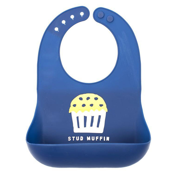 Wonder Bib - Stud Muffin-Baby-Bella Tunno-So & Sew Boutique
