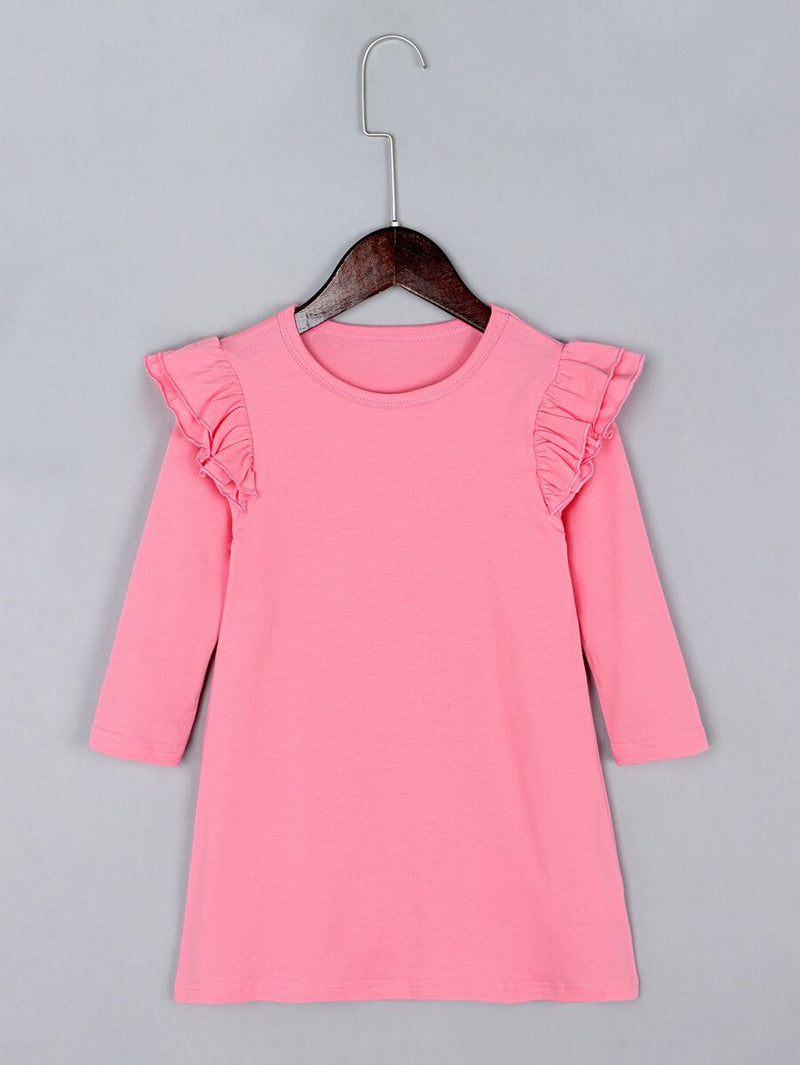 Toddler Girl 3/4 Sleeve Dress