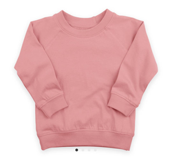 Light Pink Crew Neck Sweatshirt