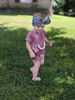 Vintage Rose Tie Dye Lounge Set