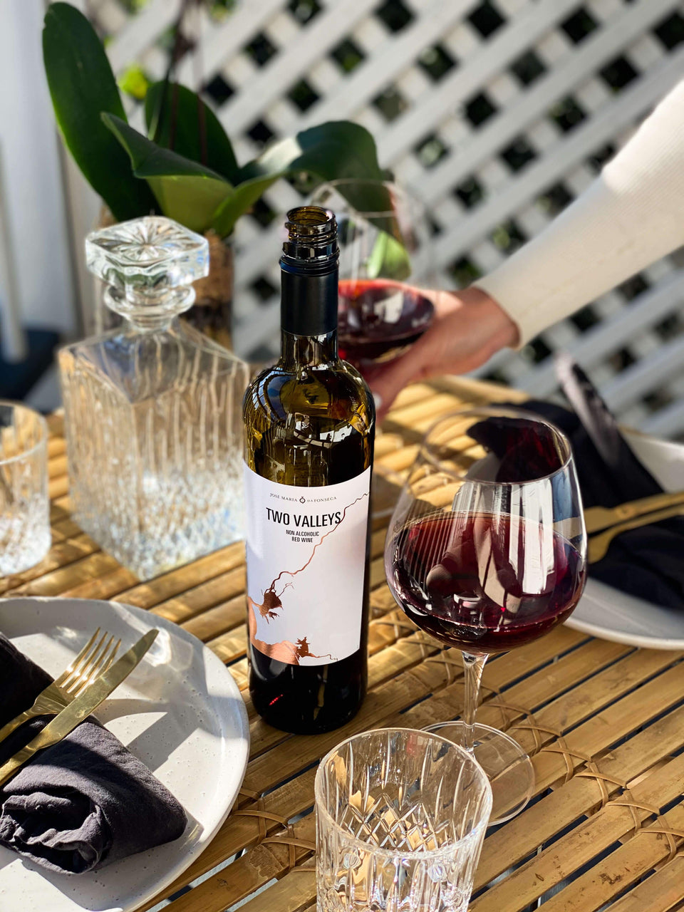 Two Valleys Non-Alcoholic Red Wine | Craftzero